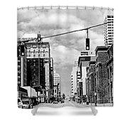Union Avenue Memphis Shower Curtain