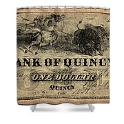 Union Banknote, 1861 Shower Curtain