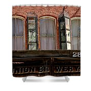 Union Brewery Virginia City Nv Shower Curtain