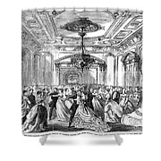 Union League Club, 1868 Shower Curtain