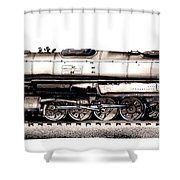 Union Pacific 4-8-8-4 Steam Engine Big Boy 4005 Shower Curtain