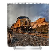 Union Pacific 6807 Shower Curtain