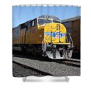Union Pacific Locomotive Trains . 5d18821 Shower Curtain
