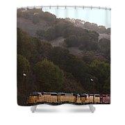 Union Pacific Locomotive Trains . 7d10553 Shower Curtain