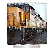 Union Pacific Locomotive Trains . 7d10588 Shower Curtain