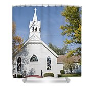 United Methodist Church Townsend Mt Shower Curtain