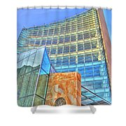 United States Court House Shower Curtain