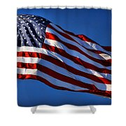 United States Of America - Usa Flag Shower Curtain