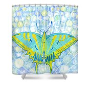 Unity Butterfly Shower Curtain