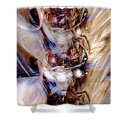 Universal Wings Shower Curtain by Linda Sannuti
