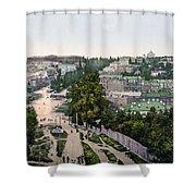 University Of Kiev - Ukraine - Ca 1900 Shower Curtain