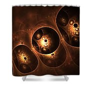 Unknown Object Shower Curtain