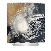 Unnamed Tropical Cyclone Approaching Shower Curtain