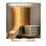 Unraveled By Time Shower Curtain