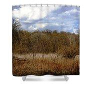 Unspoiled Prairie Landscape Shower Curtain