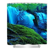 Unstoppable Flow Shower Curtain
