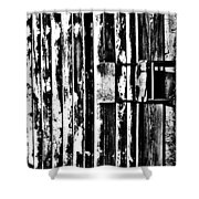 Up Held  Shower Curtain