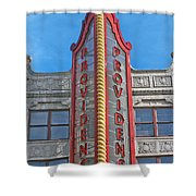 Up In Lights Shower Curtain