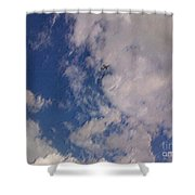 Up In The Clouds 3 Shower Curtain