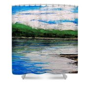 Up North, Traverse City Shower Curtain
