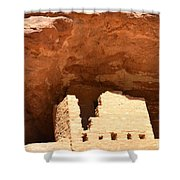 Upper Cliff Dwelling Shower Curtain