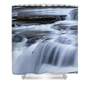 Upper Falls Detail Shower Curtain