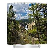 Upper Falls II Shower Curtain