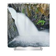Upper Mccloud Falls 2 Shower Curtain