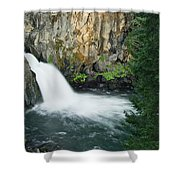 Upper Mccloud Falls Shower Curtain