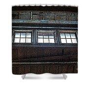 Upper Windows Shower Curtain