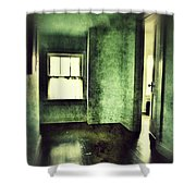 Upstairs Hallway In Old House Shower Curtain by Jill Battaglia