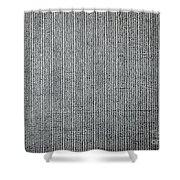 Uranyl Acetate Tem Shower Curtain