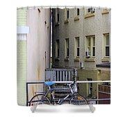 Urban Convergence Shower Curtain