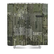 Urban Core 2 Shower Curtain