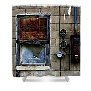Urban Gritty Shower Curtain