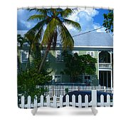 Urban Key West  Shower Curtain