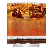 Urban Nothingness Shower Curtain