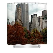Urban Sprouting From Rural Shower Curtain