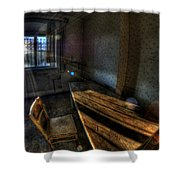 Urbex Morning Wake Up Shower Curtain