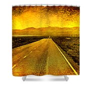 Us 50 - The Loneliest Road In America Shower Curtain