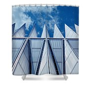 Us Air Force Academy Chapel Shower Curtain