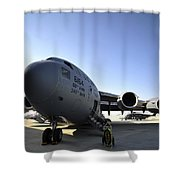 U.s. Air Force C-17 Globemaster IIi Shower Curtain
