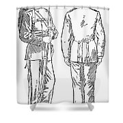 U.s. Army: Fatigues, 1882 Shower Curtain by Granger