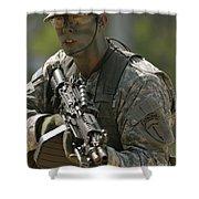 U.s. Army Ranger Shower Curtain