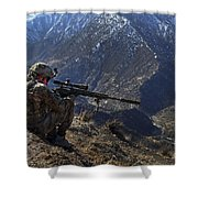 U.s. Army Sniper Provides Security Shower Curtain