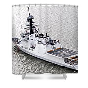 U.s. Coast Guard Cutter Stratton Shower Curtain