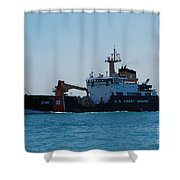U.s. Coast Guard Shower Curtain