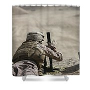 U.s. Marine Clears A Pk General-purpose Shower Curtain
