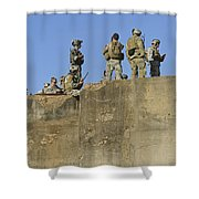 U.s. Special Operations Soldiers Shower Curtain