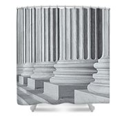 Us Supreme Court Building IIi Shower Curtain